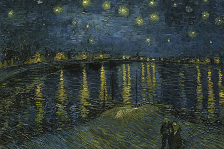 """Vincent Van Gogh: """"The Starry Night Over the Rhone"""""""