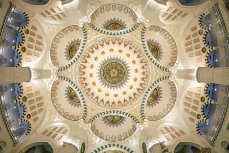 Il soffitto della moschea Melike Khatun