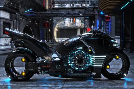 La moto du futur