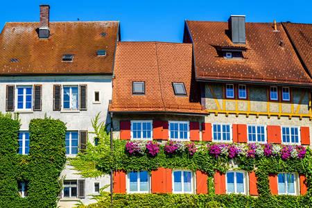 Huizen in Wangen im Allgäu