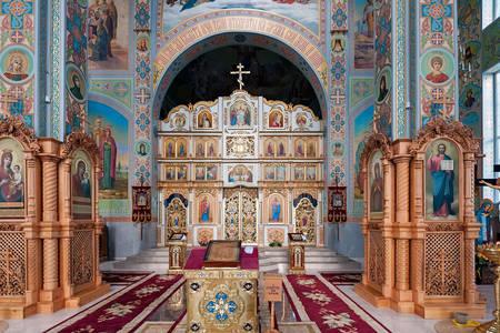 Interior of the Krasnogorsk Monastery