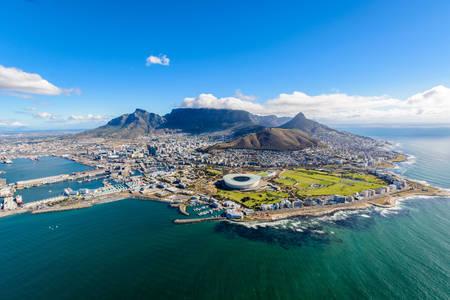 Výhľad na Kapské mesto