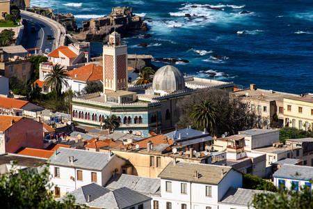 Вид на будинки в Алжирі