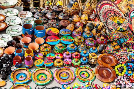 Peruánské suvenýry