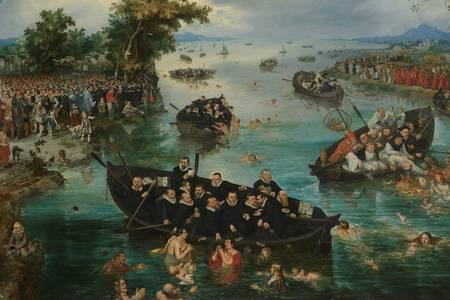 """Adriaen van de Venne: """"Ruhlar İçin Balıkçılık"""""""