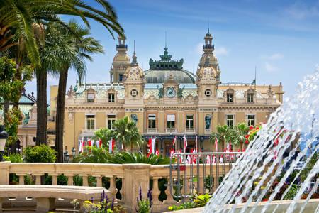 Casino de Monte Carlo à Monaco