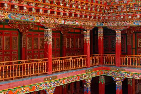 Pareti del tempio