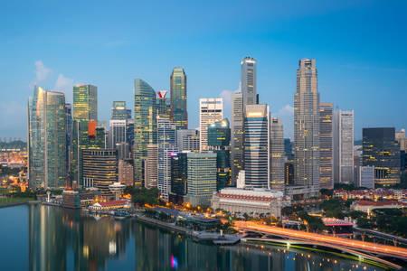 Singapur Panoraması