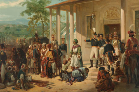 "Nicolaas Pieneman: ""The Submission of Prince Dipo Negoro to General De Kock"""