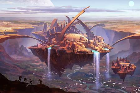 Plovoucí ostrov