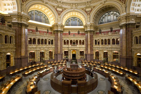 Leeszaal van de Library of Congress