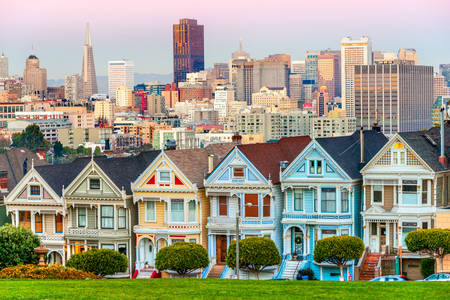 Buildings - Painted Ladies