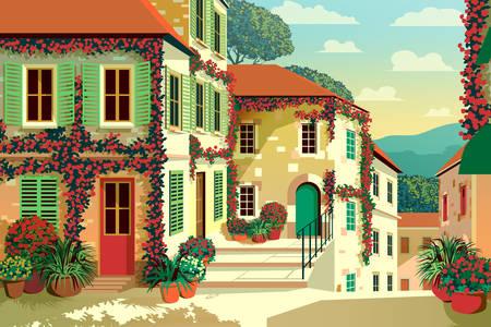Çiçek sokakları