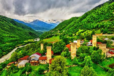 Village Mestia