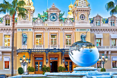 Facade of the Monte Carlo casino