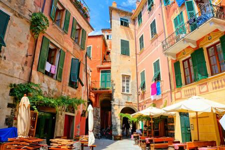 Courtyard in Monterosso al Mare