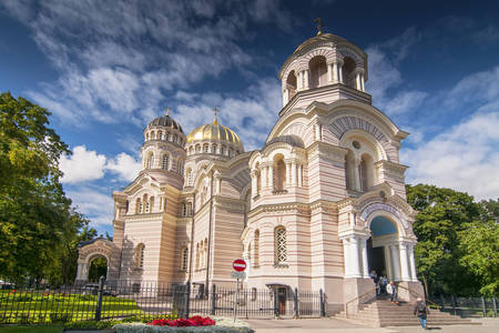 Mesih'in Doğuşu Riga Katedrali