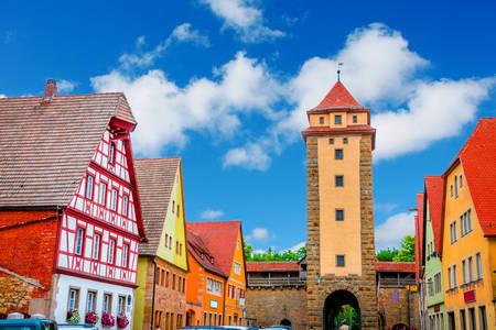 Tower in Rothenburg ob der Tauber