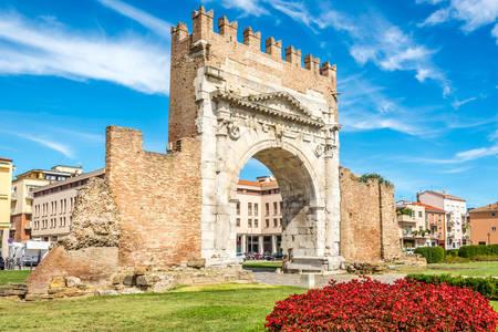 Arch of Emperor Augustus in Rimini