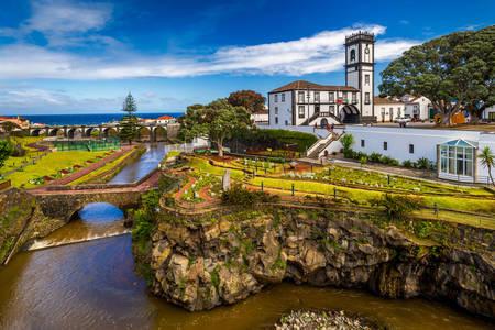 Άποψη του Δημοτικού Επιμελητηρίου Ribeira Grande