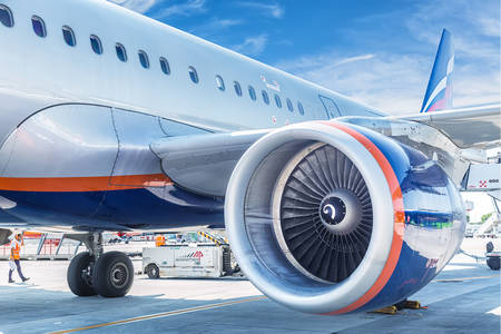 Letadlová turbína