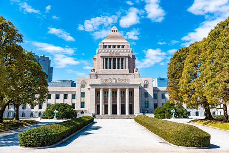 Parliament building of Japan