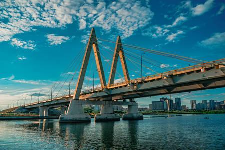 Pont du millénaire à Kazan