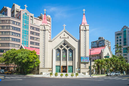 Cathedral of the Immaculate Heart of the Virgin Mary in Hsinchu