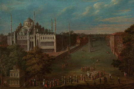Jean Baptiste Van Moore: The Grand Vizier Crossing the Atmeydanı