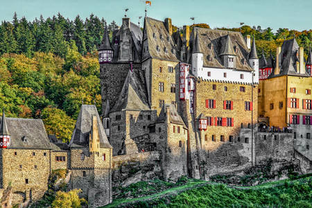 Ancient castle Eltz