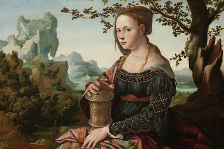 "Jan van Scorel: ""Maria Madalena"""