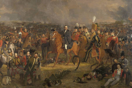 "Jan Willem Pieneman: ""A Waterloo csata"""