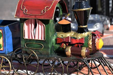 Handmade locomotive