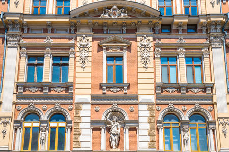 Façade de la maison Navrotsky