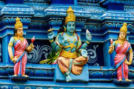 Dvarapala em Sri Mutumariamman
