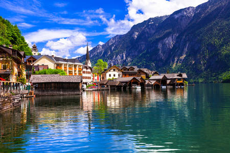 The beautiful village of Hallstatt