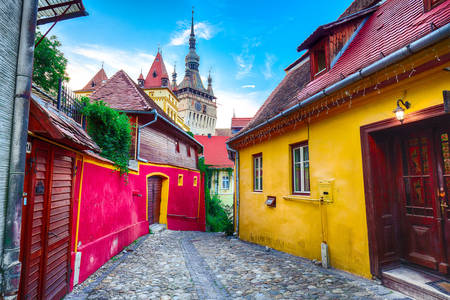 Streets in Sighisoara
