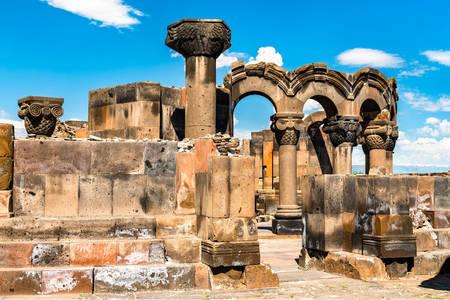 Ruins of the Zvartnots temple