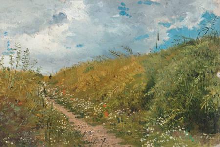 """Ilya Repin: """"Droga przez wąskie przejście"""""""
