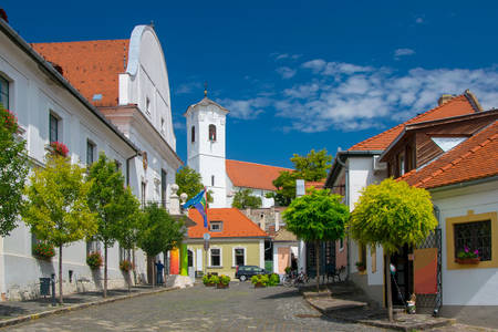 Architecture of houses in Szentendre