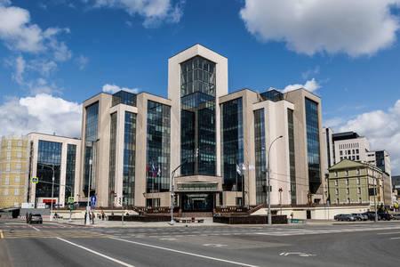A Lukoil központja Moszkvában