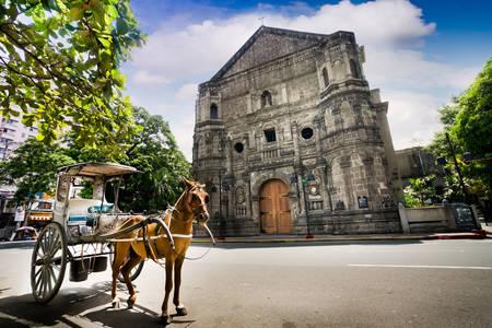 Malate Church in Manila