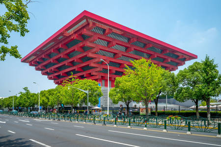 Chinese Art Museum in Shanghai