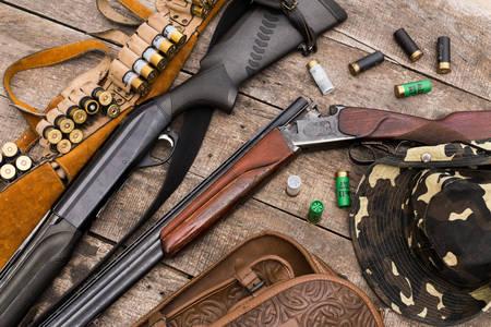 Puști de vânătoare și echipamente