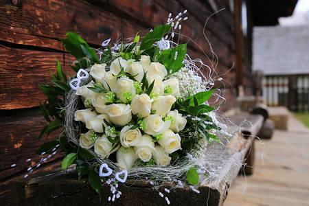 Bruiloft bruidsboeket
