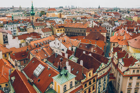 Roofs of Prague