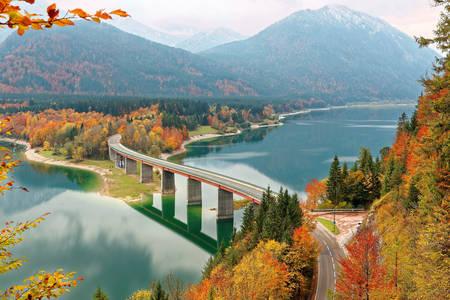 Sylvenstein Dam