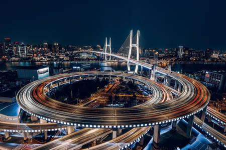 Nacht Shanghai