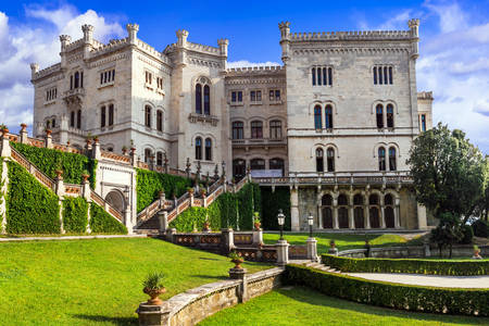 Romantic Miramare Castle