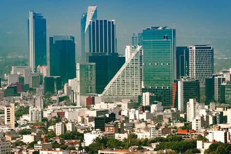 Juarez - Mexico City neighborhood